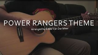 Power Rangers Theme Song - Nikeet Shah - Eddie Van Der Meer
