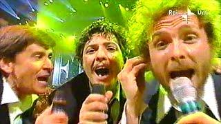 Jovanotti, Fiorello & Morandi - Ragazzo fortunato - Stasera pago io... in euro (2002)