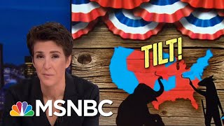 GOP Gerrymandering: Democratic Votes Not Matched By Seats Gained | Rachel Maddow | MSNBC width=