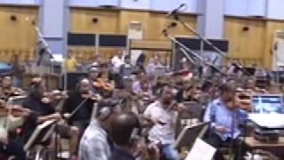 Astro Boy Main Title rehearsal
