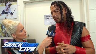 Shinsuke Nakamura promises to close Jeff Hardy's eyes: SmackDown LIVE, June 19, 2018