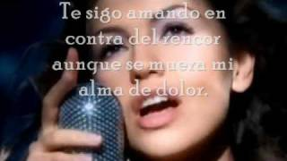 Thalia - Entre el mar y una estrella Karaoke with Lyrics