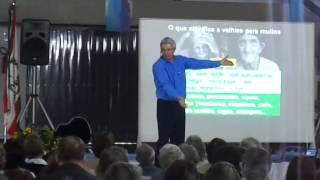 Não se entregar de bandeja e saber envelhecer (Ainor Lotério, palestra terceira idade)