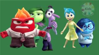 inside out finger family | english nursery rhymes | Kids songs