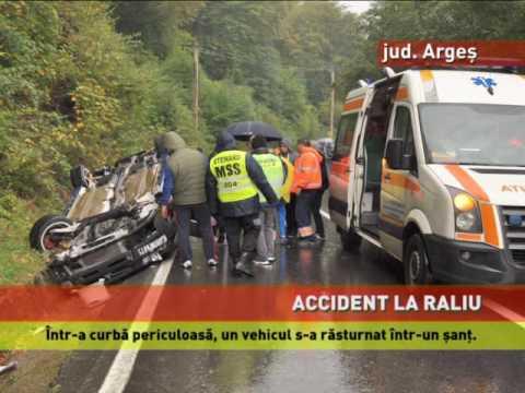 Accident spectaculos la raliu