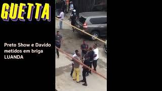 Preto  Show e Davido metidos em briga. (Ilha de Luanda)