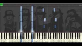 4MINUTE - 미쳐(Crazy) (Piano Tutorial) [Sheets + MIDI]