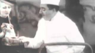 A Brief Glimpse of Jan Peerce In An Old Vaudeville Opera Schtick  From 1930's
