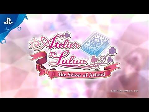 Atelier Lulua: The Scion of Arland - Launch Trailer | PS4