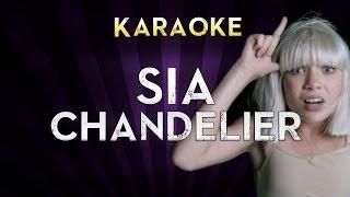 Sia - Chandelier | Higher Key (B) Karaoke Instrumental Lyrics Cover Sing Along
