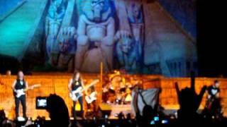 Iron Maiden En Ecuador!!!  30 seg de Wasted Years HQ