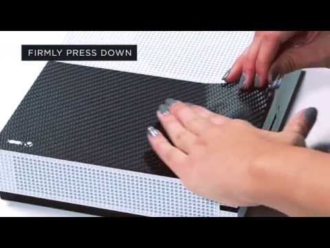 Slickwraps XBox One S & Controller Installation Video