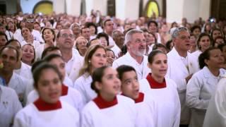 Homenagem ao Pe. Marcelo Rossi - Santuário Perpétuo Socorro