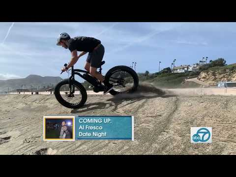 ABC7 Eye on LA Featuring Hi Power Cycles High Performance Electric Bikes!