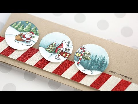 Holiday Card Series 2018 – Day 18 – Three Christmas Scenes