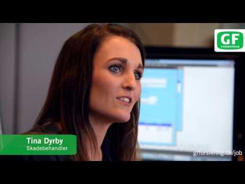 Mød Tina Dyrby – skadebehandler hos GF Forsikring