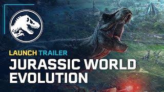 Jurassic World Evolution Official Game Trailer width=
