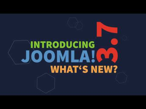 Joomla! 3.7 is coming! 700+ improvements and 40 new features.
