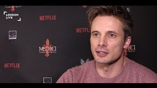 Bradley James and Luca Bernabei on Medici: The Magnificent | London Live