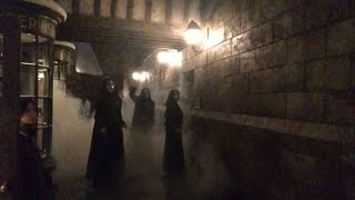 The Death Eater Attack at the Wizarding World Of Harry Potter.