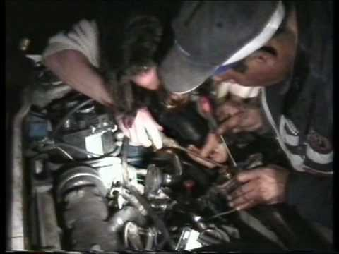 afrika (5): auto service by night in maroc