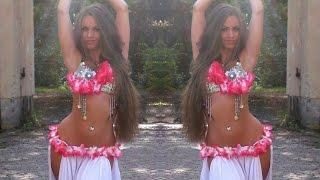 Amr Diab - Amarain - قمرين - عمرو دياب - Isabella Belly Dance HD