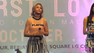 [FANCAM] 151011 CLC (씨엘씨) What Should I do (어쩌죠) @ K.L Time Square