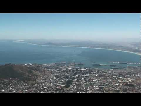 Table Mountain, Capetown. View from the top.
