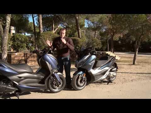 Motosx1000: Comparativa Yamaha XMAX 300 Vs. Honda Forza 300