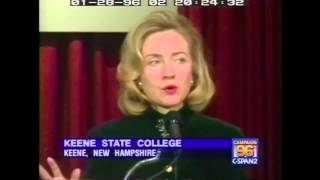 "1996: Hillary Clinton on ""superpredators"" (C-SPAN)"