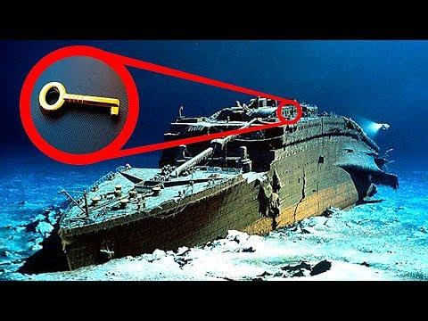 10 Самых Невероятных Вещей, Найденных на Титанике