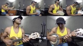 """Tia Nastácia """"BALACOBACO""""Cavaco - Banjo  - Percussão"""