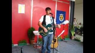 Ricardo Reis - Cai neve em Nova York (cover ao vivo na II feira da saúde do Laranjeiro)
