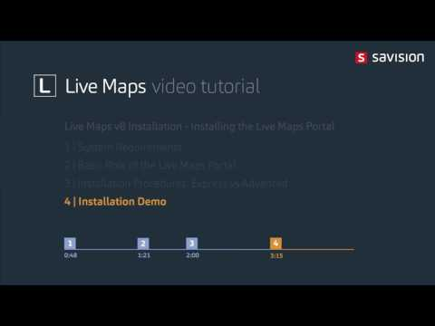 Live Maps - Installing the Live Maps Portal
