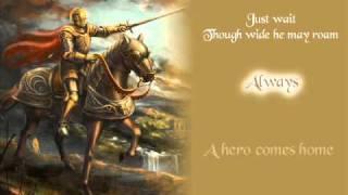 Idina Menzel - A Hero Comes Home with Lyrics
