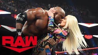 Lana kisses Bobby Lashley after revealing her divorce: Raw, Nov. 18, 2019