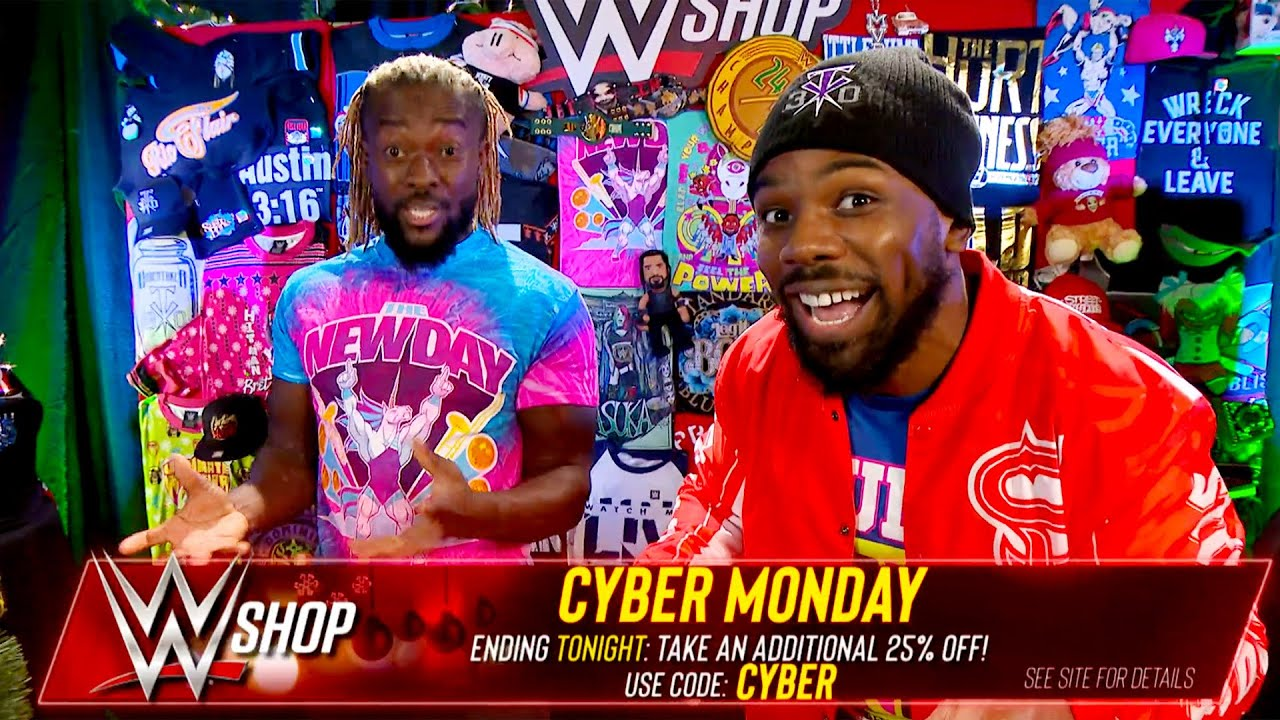 WWE - The New Day break down WWE Shop's incredible Cyber Monday deals
