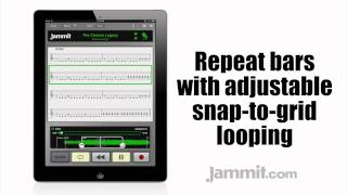 "Jammit ipad iphone app Dimmu Borgir Video The Chosen Legacy ""learn to play guitar"""