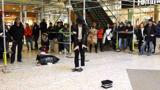 Billy Jeans -  A street performer imitating Michael Jackson in Nordstan