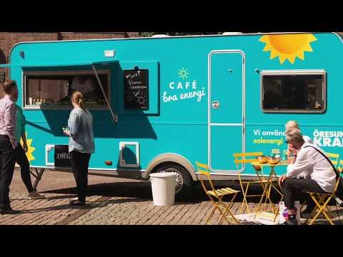 Solkaffe - Öresundskraft och solceller