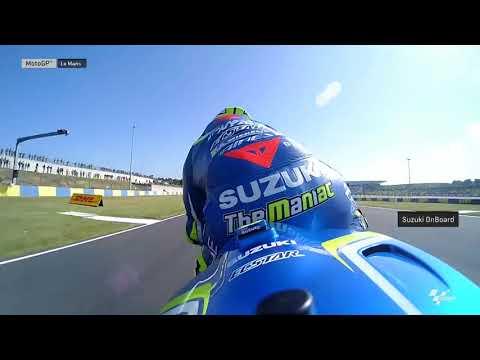 French GP: Suzuki OnBoard