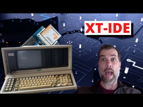 Let's Build some Mass Storage - XT-IDE Card