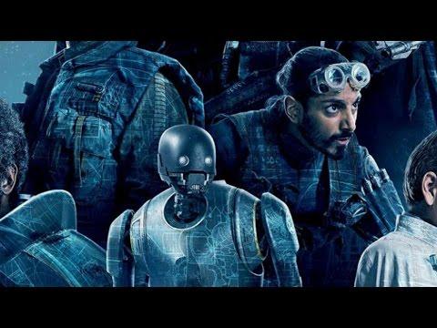 Rogue One: A Star Wars Story - Alan Tudyk and Riz Ahmed Talk K-2SO and Bodhi