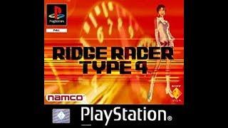Ridge Racer Type 4 - Playstation 1 (PSX) (PS1 Mini Classic Gameplay)