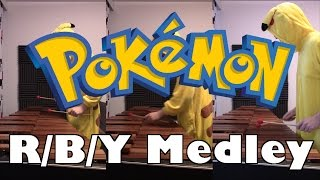 Pokémon Red/Blue/Yellow medley - marimba cover