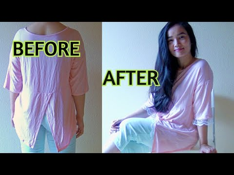 DIY: Blouse with Lace Details (INVISIBLE HAND-STITCH)