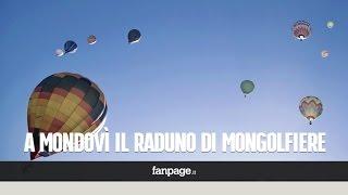 Lo spettacolo delle mongolfiere a Mondovì, in volo anche conigli e pinguini