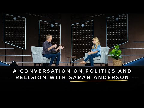 The Space Between Us: A Conversation on Politics and Religion with Sarah Anderson // Andy Stanley