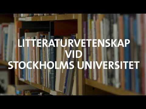 Litteraturvetenskap – med berättandet i fokus