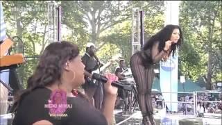 Nicki Minaj's Speech (GMA Summer Concert Tour)